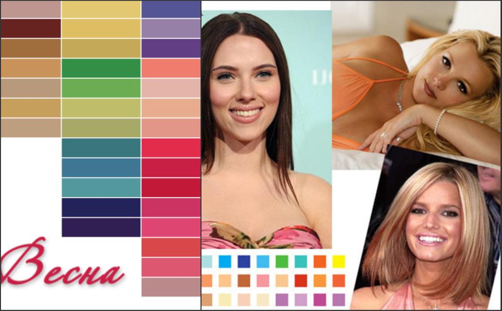 весенний цветотип внешности фото выбор различных производителей