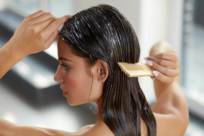 ухаживать за оерашенными волосами